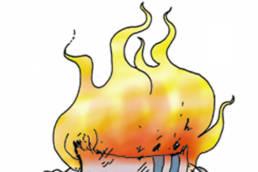 illustration didactique d'une chauffe rudimentaire en milieu carcéral