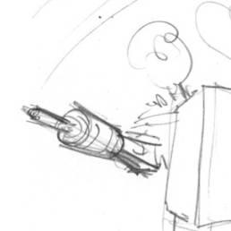 Crayonné de la crête du Donon
